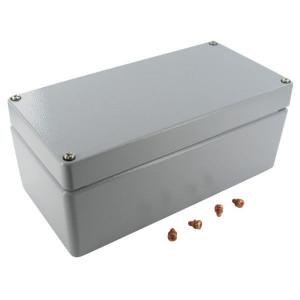 Bopla Huis, alumin. 100x200x80mm - A114 | IP 66/ DIN EN 60529 | 100 mm | 200 mm | 80 mm