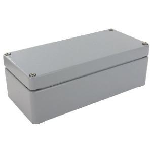 Bopla Huis, alumin. 100x100x80mm - A116 | IP 66/ DIN EN 60529 | 100 mm | 100 mm | 80 mm