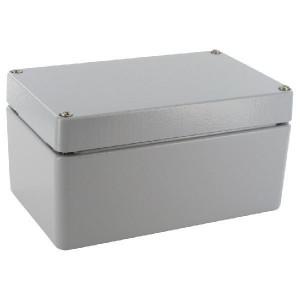 Bopla Huis, alumin. 100x160x80mm - A118 | IP 66/ DIN EN 60529 | 100 mm | 160 mm | 80 mm