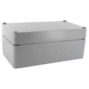 Bopla Huis, alumin. 120x220x90mm - A123 | IP 66/ DIN EN 60529 | 120 mm | 220 mm | 90 mm