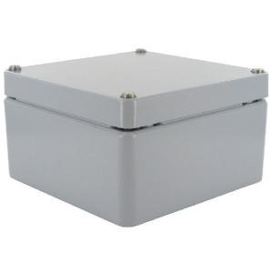 Bopla Huis, alumin. 160x160x90mm - A125 | IP 66/ DIN EN 60529 | 160 mm | 160 mm | 90 mm