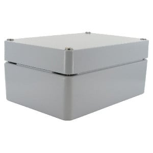 Bopla Huis, alumin. 140x200x90mm - A126 | IP 66/ DIN EN 60529 | 140 mm | 200 mm | 90 mm