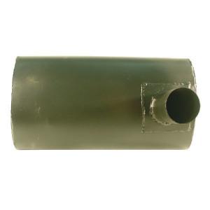 Uitlaatdemper Case - IH - A184460N | 82 x 70 mm | 80 x 105 mm