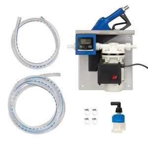 Pressol AdBlue®-IBC-pompset 230V met automatisch tankpistool en literteller - 25228 | Gemonteerd op grondplaat | 230 V | 35 ltr/min | 54 IP | 1 inch | 1 inch | 1,5 A | 270 x 190 x 160 mm