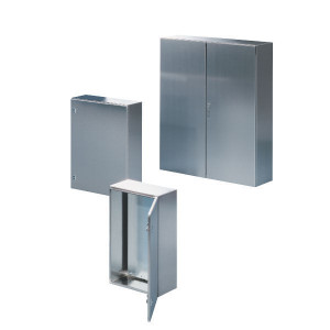 Rittal Wandkast, RVS, 600x380x210mm - AE1009600 | 600 mm | 380 mm | 14,6 kg | 210 mm