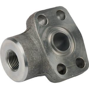 "Oleo Tecnica Flens SAE 6000 3/4-1/2 90° - AFS612GU0890 | Pompen Motoren | 50,8 mm | 23,8 mm | 11 mm | M 10 x 35 metrisch | 3/8 x 1 1/2 UNC | 414 bar | 1/2"" BSP"