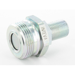 "Rem Koppeling male 1/2""BSP - AGRM12A08 | Vlakdichtend | Gromelle K-8000 | 1/2""DN13 | 25 l/min | 250 bar | 1/2"" BSP | 42,5 mm | M36 x 2,0"