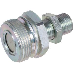 "Rem Koppeling male M18x1,5-12L - AGRM12N18 | Vlakdichtend | Gromelle K-8000 | 1/2""DN13 | 25 l/min | 250 bar | M18 x 1,5 | 50,5 mm | M36 x 2,0"