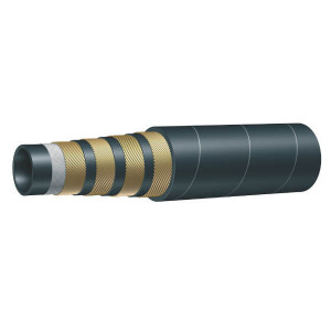 "Aeroquip Slang 4SH DIN 20023/2 1 1/4"" - AQ4SH32 | SBR / NBR | 31,8 mm | 1.1/4 Inch | 350 bar | 35 MPa | 460 mm | 1400 bar | 2,5 kg/m | EN 856-4SH | 45,5 mm | AQSF4H251W | 43,5 mm"