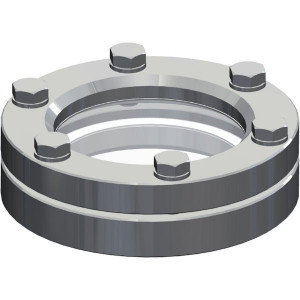 MZ Peilglas roestvrijstaal - ARZO0415100000 | Roestvrij staal AISI 304 | 170 mm | 110 mm
