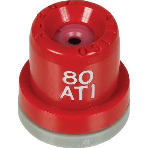 Albuz Holle kegeldop ATI 80° Rood - ATI8004 | 10 20 bar | Keramisch | 80°