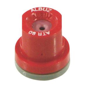 Albuz Kegeldop ATR 80° rood keramisc - ATR80RED | 5 25 bar | 11 mm | Keramisch | 80°