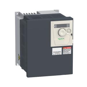 Schneider-Electric Frek. reg. 3F, 5,5kW - ATV312HU55N4 | 14,3 A | 5,5 kW | 0…500 Hz | 232 W | 21,9 A