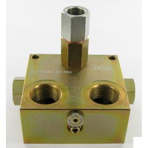 """Bosch Rexroth Spoelblok 1"""" A-VSL-R 100 - AVSLR100   12 (5-25) bar   350 bar"""