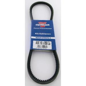 Optibelt V-snaar 10x850 - AVX10850 | Uitstekende slijtvastheid | Onderhoudsvrij | Rustige loop | 850 mm | 850 mm
