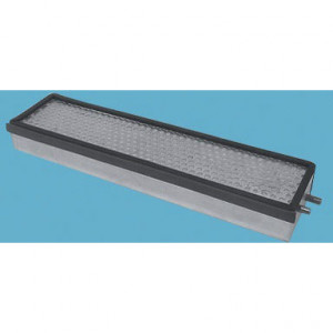 Panclean Actief koolstoffilter - AX6454 | 525 mm A | 120 mm B | Glasvezel + actieve kool | 1.279 g | 99,95 % | 250 Pa