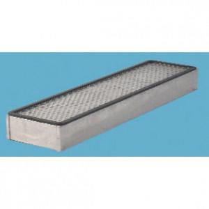 Panclean Actief koolstoffilter - AX9226 | 580 mm A | 150 mm B | 99,95 % | 250 Pa | Glasvezel + actieve kool | 1.853 g