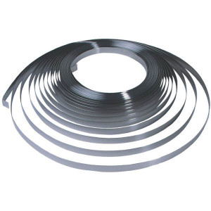 "Bandimex Spanband RVS 19mm - B2061 | 30 m / Rol | Met afgeronde kanten | 0,75 .030"" mm | 19 3/4"" mm"