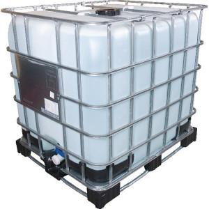 "Meinler Gedemineraliseerd water IBC 1000 liter - ME80672 | Geleidbaarheid < 2 µS/cm| Accu water | Demi-water | IBC wordt uw eigendom | Nieuwe tank / blaas van PE-HD | Nieuwe kraan DN50 / 2"" | Opening bovenkant DN150 / 6"""