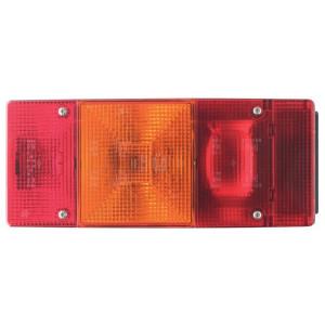 Geka Achterlicht rechts - BBSKN246R | rechts | Opbouw | 246 mm | 108 mm