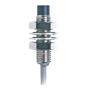 Balluff Benaderschakelar induct M8 4mm - BESM08EDPOC40FBV02 | Niet afgeschermd | 10…30V DC | 4 mm mm Sn | 1500 Hz | PNP PNP/NPN | NC M/V | Kabel Kabel / Connector | 200 mA | 2 m