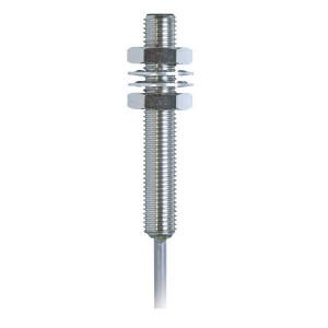 Balluff Benaderschakelr inductiM8, 2mm - BESM08MINSC20BBV02   Afgeschermd   12…30V DC   2 mm mm Sn   700 Hz   NPN PNP/NPN   No M/V   Kabel Kabel / Connector   200 mA   2 m