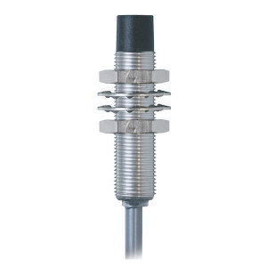 Balluff Benaderschakelr inductM12, 8mm - BESM12MGPOC80FBV02 | Niet afgeschermd | 10…30V DC | 8 mm mm Sn | 800 Hz | PNP PNP/NPN | NC M/V | Kabel Kabel / Connector | 200 mA | 2 m