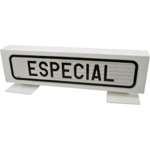 "Bord ""Especial"" - BL9010ES | Metalen uitvoering | Homologatie code Spanje"