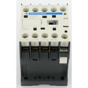 Schneider-Electric Hulprelais 3 m- + 1 v-contact - CA4KN31BW3   2,2kW 6A   24V DC V   3 pcs maker   1 pcs verbreker