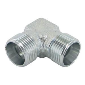 Voss Haakse koppeling - CAG13NU | Zink / Nikkel | 24 ° | 1/4 13,25 mm | 38,5 mm | 400 bar