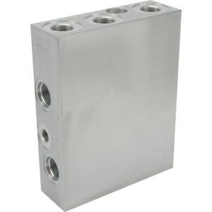 Cartridge-blok aluminium(2011-T6) blank geannod. - CARTK060801