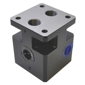 Eurofluid Cartirdge-blok staal / CATS011201 (modulaire aggregaten) - CARTS011201