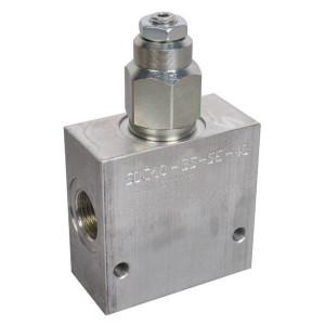 "Comatrol Bal.ventiel enkel 1/2"" 80-230 - CB10HV3A1E2002 | Extern | 210 350 bar bar | Nitrilrubber (NBR) | 115,5 mm | 70 mm | Aluminium | 7 mm | 60 l/min | 250 bar | 80 230 bar"