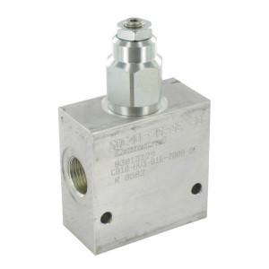 "Comatrol Bal.ventiel enkel 1/2"" 90-350 - CB10HV3B1E2002 | Extern | 210 350 bar bar | Nitrilrubber (NBR) | 115,5 mm | 70 mm | Aluminium | 7 mm | 60 l/min | 4,5 : 1 | 250 bar | 90 350 bar"