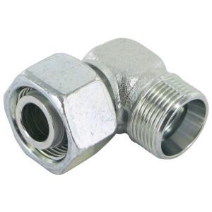 Voss Instelb. koppeling - CELAG17NE | Zink / Nikkel | 24 ° | 16,75 mm | 33,5 mm | 41,5 mm | 400 bar | M24 x 1.5 metrisch