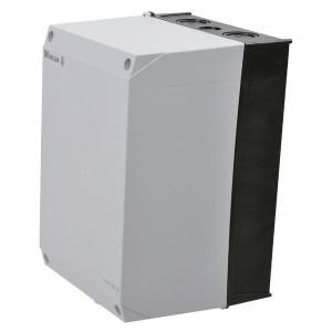 Eaton Kunststof kast met rail - CIK4160TS | RAL9005 / RAL7035 | 240 mm | 160 mm | 160 mm