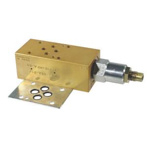Comatrol Drukregelvent. CP2001B0AC NG06 - CP2001M03018 | Nitrilrubber (NBR) | Aluminium | 100 mm | 45 mm | 38,5 mm | Cetop 03 | Inwendig | 35 l/min | 210 bar | 41 248 bar