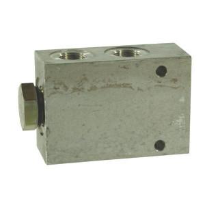 "Comatrol Stroomdeler CP3401B033 3/8 - CP3401001 | Aluminium | Nitrilrubber (NBR) | 210 bar | 23 l/min | 60 mm | M22 x 1.5 | M18 x 1.5 | 3/8"" BSP | 6,5 mm"