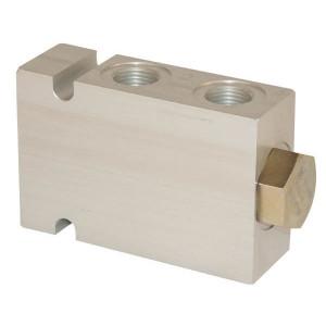 "Comatrol Stroomdeler CP3411B01010 3/4 - CP3411003 | Aluminium | Nitrilrubber (NBR) | 126 mm | 76 l/min | 114 mm | 76 mm | 3/4"" BSP"