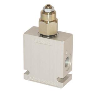 Comatrol Bal.ventiel enkel 1/4BSP103-345 - CP4481001 | Extern | Van 2 naar 1 | 210 bar 345 bar bar | 112 mm | 63 mm | Aluminium | 7 mm | 20 l/min | 1 : 4,5 | 210 bar | 103 210 bar