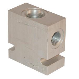 "Comatrol Aluminium huis SDC12-2 -A-12 (3/4"") - CP9122A12M | 210 bar | 60 mm | Aluminium | 3/4 BSP"