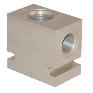 "Comatrol Aluminium huis SDC16-2 -A-16 (1"") - CP9162A16M | 210 bar | 60 mm | Aluminium | SDC 16 | 1 BSP"