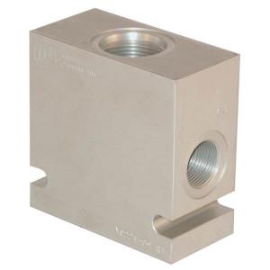 "Comatrol Aluminium huis SDC16-3 -A-16 (1"") - CP9163A16M | 210 bar | 110 mm | 60 mm | 100 mm | Aluminium | SDC 16 | 1 BSP"