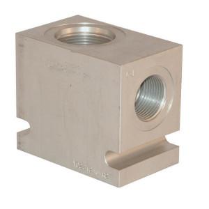"Comatrol Aluminium huis CP20-2 -A-20 (1.1/4"") - CP9202A20 | 210 bar | Aluminium | 1 1/4 BSP"