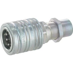 "Faster Koppelhuis 1/2-M22x1,5-15L-schot - CPV52215F | Carbonstaal | NBR / PTFE | Wit gepassiveerd | M22x1,5 | 1/2"" | 75 l/min | 300 bar | 86,3 mm | Schot 15L | 15,2 mm"