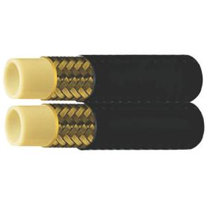 "Parker Hydr. slang dubbelgelast 1/4"" - CR866 | 1x Stalen vlechtwerk | 6,4 mm | 1/4 Inch | 310 bar | 31 MPa | 1240 bar | 620 bar | 40 mm | 11,9 mm | 0,34 kg/m | SF1K-06"