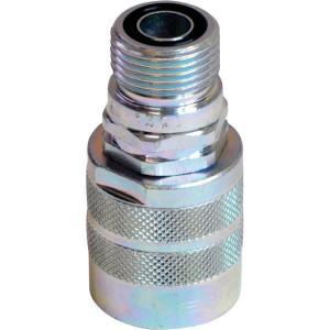 "Faster Insteeknippel 1/4-13/16-ORFS - CVV041112SAEM | Viton / PTFE | ISO 14541 | Wit gepassiveerd | 13/16"" ORFS | Rd 24x2 mm | 1/4"" | 13 l/min | 500 bar"