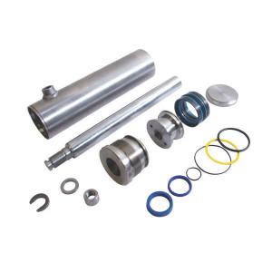"Zelfbouwcil. 70-110-1000 - D701101000 | Machinebouw | 250 bar | 200 bar | 0,1 m/sec max. | 110 mm | 1.000 mm | 1.234 mm | 1/2"" BSP | 130 mm"