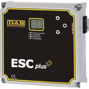 DAB Pumps Besturingseenheid ESC Plus 3M - DAB60149590 | 50-60 Hz | 1x230 V | 0.5 3 Hp | 170 mm | 170 mm | 1,1 kg