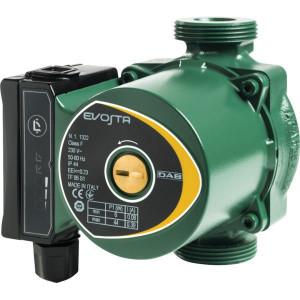 DAB Pumps Evosta 40-70/130 ½ - DAB60161175 | 50 l/min | 3 m³/h | 10 bar | 0,06 Hp | 0,39 A | 1/2 G Inch | 102,5 mm | 76,5 mm | 124 mm | 73,5 mm | 50,5 mm | 130 mm | 2,4 kg